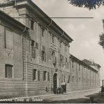 La caserma Conte di Torino che a fine 1940 era sede del distretto militare di Vercelli.