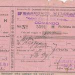 Il biglietto del treno da Mestre ad Alpignano mai utilizzato